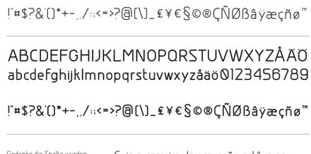 19 luật cơ bản về font chữ