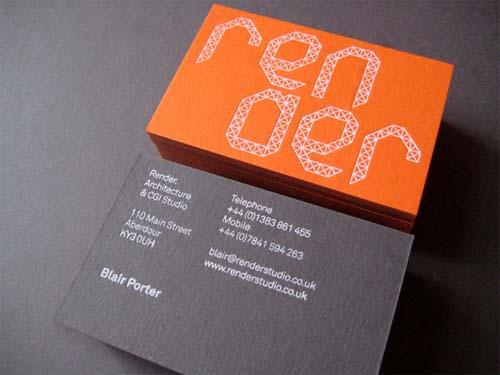 typography namecard 1(1)
