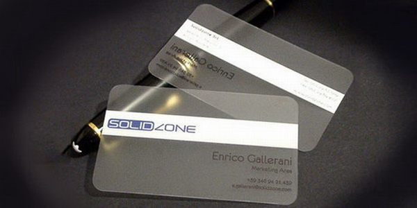 name card trong suot 019 Name card trong suốt: xu hướng thời thượng doanh nhân
