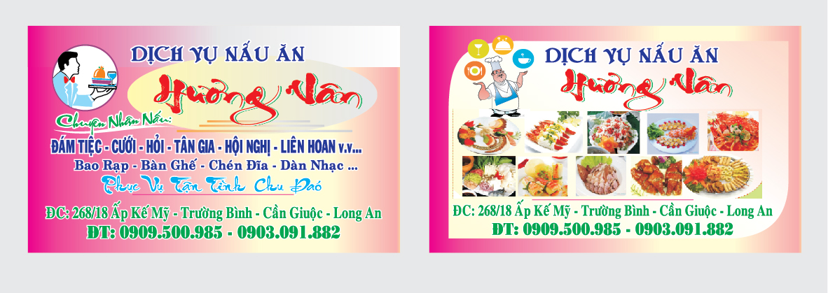 in name card danh thiep card visit nha hang khach san in gia re
