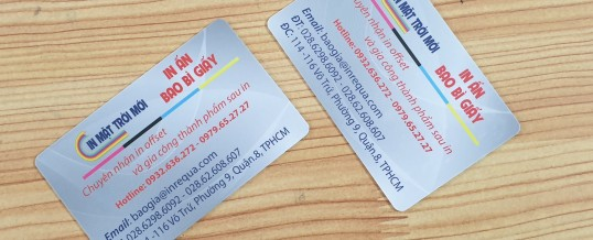 In name card giá rẻ tphcm