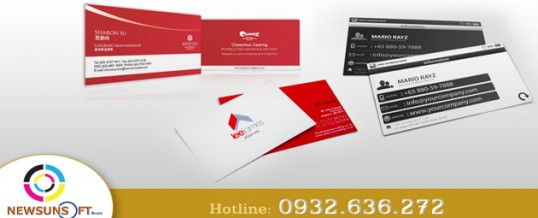In name card, danh thiếp, card visit giá rẻ