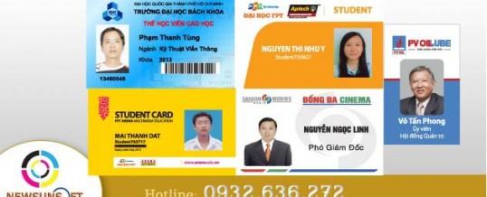 In thẻ thành viên, thẻ vip giá rẻ