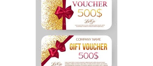 in voucher, coupon
