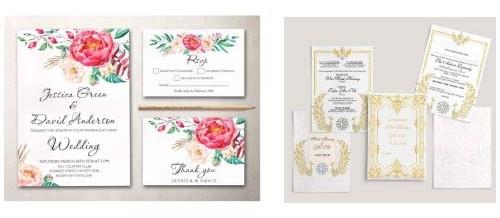 Thiệp mời, thiệp cưới, thiệp chúc tết